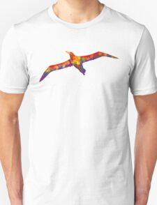 Rainbow Soaring Albatross Unisex T-Shirt