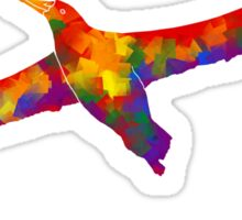 Rainbow Soaring Albatross Sticker