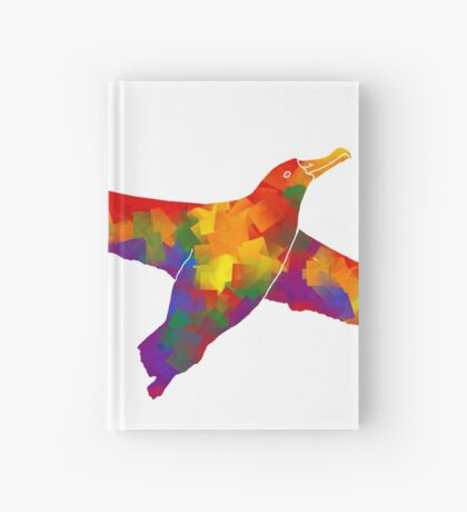 Rainbow Soaring Albatross Hardcover Journal