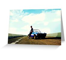 Fast and Furious Ford Escort Greeting Card