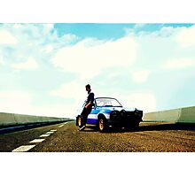 Fast and Furious Ford Escort Photographic Print