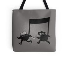Chase scene music. Tote Bag