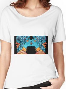 Looking Glass Kisses Women's Relaxed Fit T-Shirt