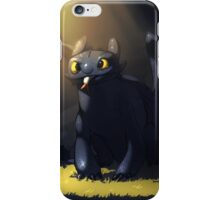 Toothless In A Cave iPhone Case/Skin