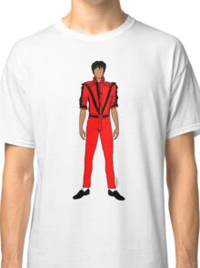 Thriller Red Jackson Classic T-Shirt