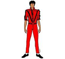 Thriller Red Jackson Photographic Print