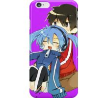 ene falling on shintaro iPhone Case/Skin