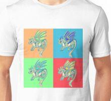 Pop Art Wolf Dragon Unisex T-Shirt