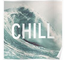 chill and huf Poster