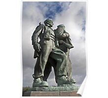 the commando memorial Poster