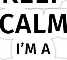 Keep Calm I'm a Police Officer Sticker