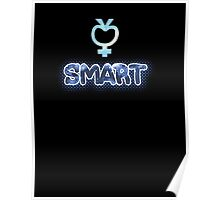 Smart - Sailor Mercury Symbol Poster