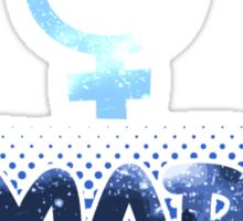 Smart - Sailor Mercury Symbol Sticker