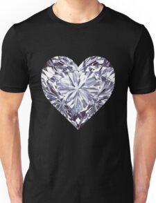 Diamond Heart Unisex T-Shirt