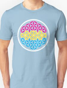 pansexual sacred geometry Unisex T-Shirt