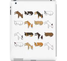 Lazy Bull Terrier - White iPad Case/Skin
