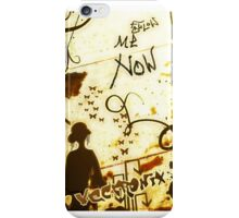 Follow me now iPhone Case/Skin