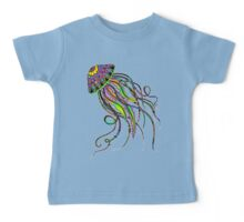 Electric Jellyfish Baby Tee