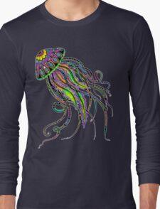 Electric Jellyfish Long Sleeve T-Shirt