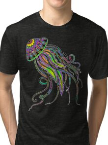 Electric Jellyfish Tri-blend T-Shirt