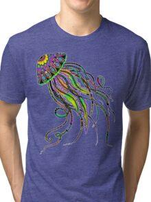 Electric Jellyfish Tri-blend T-Shirt
