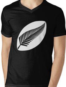 Rugby New Zealand Mens V-Neck T-Shirt