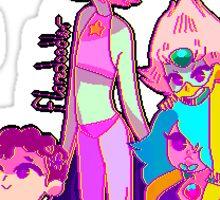 Steven Universe Pixel Sticker