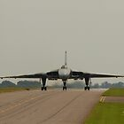 Vulcan at RAF Waddington by Jonathan Cox