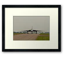 Vulcan at RAF Waddington Framed Print