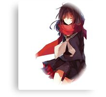 ayano in the void Canvas Print