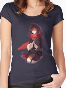 ayano in the void Women's Fitted Scoop T-Shirt
