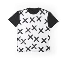 Pattern with crosses Graphic T-Shirt