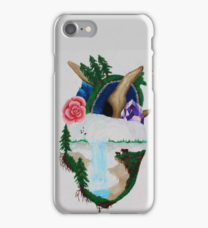 Mother Nature's Heart iPhone Case/Skin