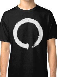 Zen Enso - White Grunge Classic T-Shirt