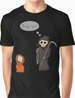 Kenny - Meet with Death Graphic T-Shirt