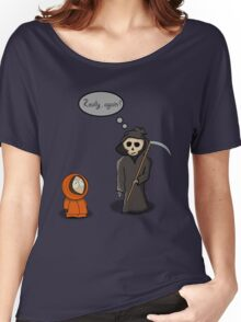 Kenny - Meet with Death Women's Relaxed Fit T-Shirt