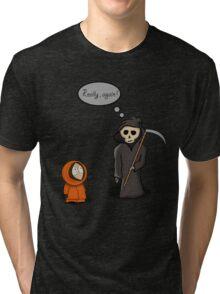Kenny - Meet with Death Tri-blend T-Shirt