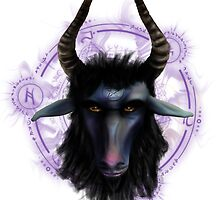 Goat Lord by simonbreeze