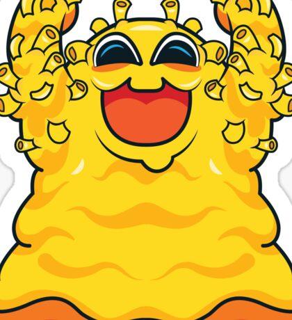 Macaroni Monster Sticker