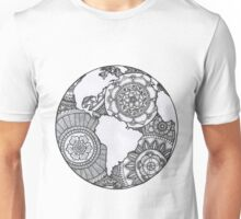 Zendoodle Mandala World Unisex T-Shirt