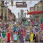 Funny TV and movie stars by matan kohn