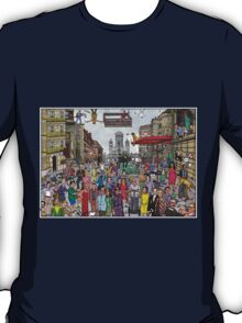 Funny TV and movie stars T-Shirt
