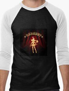 Cabaret Colorful Emblem Men's Baseball ¾ T-Shirt