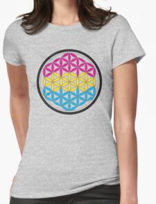 panSacred Geometry Womens Fitted T-Shirt