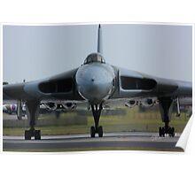 Vulcan at Waddington Airshow Poster