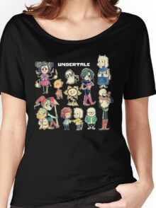 Undertale Chars Women's Relaxed Fit T-Shirt