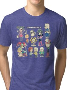 Undertale Chars Tri-blend T-Shirt