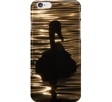Swan Sunset iPhone Case/Skin