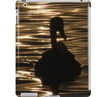 Swan Sunset iPad Case/Skin