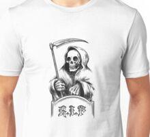 Death with a Scythe Unisex T-Shirt